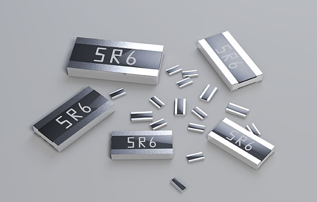 抗硫车用宽电极厚膜贴片电阻