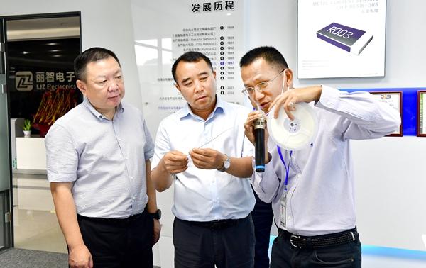 贵州省六盘水市钟山区党政代表团来我区考察